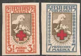 Estonia 1921 Nuovo TL* - Mi. 29B/30B - Estonia
