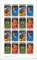 1985,Zirkuskunst., 4x 2983-2986** Im Kompl. Schhalterbogen - [6] Oost-Duitsland