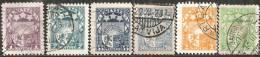 Lettonia 1921/40 Usato - N° 6 Valori - Lettonia