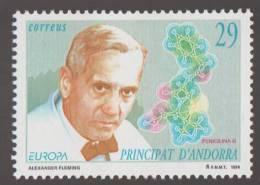 Alexander Fleming, Penicillin, Medicine  Pharmacy, Nobel Prize, MNH Spanish Andorra - Medizin