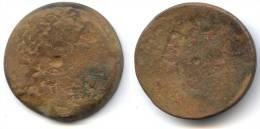 Grand Bronze De Ptolémée IV, Egypte, 36 Mm, - Griekenland