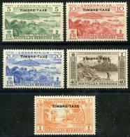 Nouvelle Hébrides (1953) Taxe N 26 à 30 ** (Luxe) - Nouvelles-Hébrides