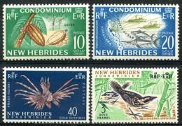 Nouvelle Hébrides (1965) N 219 à 222 ** (Luxe) - Nouvelles-Hébrides