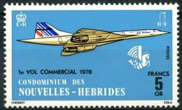 Nouvelle Hébrides (1976) N 424 (*) Sans Gomme - Nouvelles-Hébrides