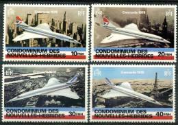 Nouvelle Hébrides (1978) N 527 à 530 ** (Luxe) - Nouvelles-Hébrides