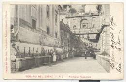 3277-SORIANO NEL CIMINO(VITERBO)-FONTANA PAPACQUA-LAVANDAIE-ANIMATA-1904-FP - Viterbo