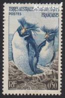 1956 - T.A.A.F. - Y&T 2 - Eudyptes Chrysolophus (*/MH) - Neufs