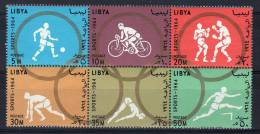 1964,  Jeux Olympiques à Tokyo, Y&T  No.  246 - 251 , Neuf **, Lot 37856 - Libye