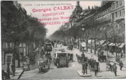 Paris Boulevard Des Italiens - Pub Georges Calbat - Distretto: 09