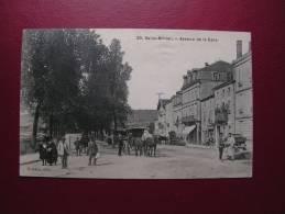 == France, Saint Mihiel  Ave, De La Gare 1909 - Commercy