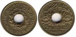 N1368 - Liban: 2 1/2 Piastres 1940 - Liban