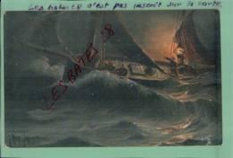 "CPA  ""OILETTE"" With The North Sea Fishing Fleet,   Marins En Mer,  2013-Div 0105 - Tuck, Raphael"