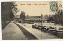 VERDUN. -  Le Canal - L'Ecluse. - Usine électrique - Verdun