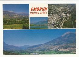 Cp, 05, Embrun, Et L'Embrunais, Multi-Vues, Voyagée 1988 - Embrun