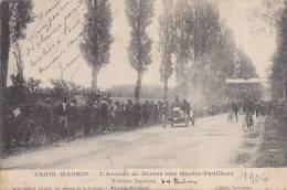 Automobile - Course Automobile - Paris Madrid -  Bordeaux Quatre-Pavillons 1904 - Pilote Barras - Oblitération - Unclassified