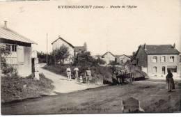 EVERGNICOURT - Montée De L'Eglise / Attelage - Chateau Thierry