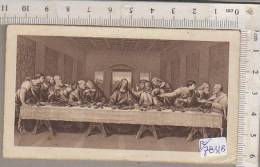 PO7831B# SANTINO RICORDO S.MISSIONE DEI PP.PASSIONISTI AL LIDO DI VENEZIA 1938 - ULTIMA CENA FB Bonella - Images Religieuses