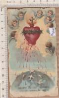 PO7930B# SANTINO SACRO CUORE DI GESU' Tip.Santa Lega Eucaristica N.110 - Images Religieuses
