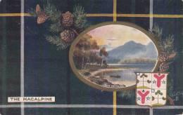 Tuck - The Macalpine - Loch Katrine Scottish Clans Series IV Postcard 9459 Postmark: Baltimore, MD Jun 17 1908 - Généalogie