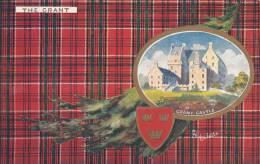 Tuck - The Grant - Grant Castle Scottish Clans Series II Postcard 9403 Postmark: Halifax-St. John RPO Day Jul 7 08 - Généalogie