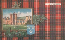 Tuck - The Fraser - Beaufort Castle Scottish Clans Series II Postcard 9403 Postmark: Glasgow 13 Mar 1929 - Généalogie