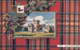 Tuck - The Macintosh - Moy Hall Scottish Clans Series IV Postcard 9459 - Généalogie