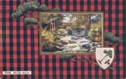 Tuck - The Rob Roy - Bridge Of Dolhart Scottish Clans Series III Postcard 9458 Postmark: Amherst, NS Jul 28 1908 - Généalogie