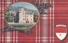 Tuck - The Menzies - Castle Menzies Scottish Clans SeriesV Postcard 9480 - Généalogie