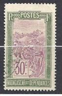 MADAGASCAR  N� 136 OBL TTB