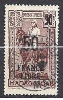 MADAGASCAR FRANCE LIBRE N� 258 OBL TTB