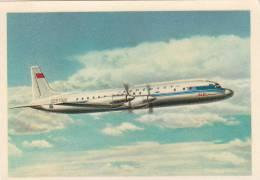 00527 IL-18 Passenger Turbojet USSR - 1946-....: Moderne