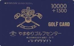 Carte Prépayée Japon - Sport - GOLF / 10000 - Japan Sports Prepaid Play Member´s Card - 613 - Sport