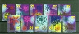 Nederland, Holanda, Serie Completa Año 2006 Yvert Nr.2364/73 Usada Navidad - Nuevos