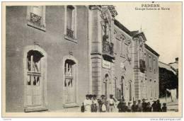11-PADERN-Groupe Scolaire Et Mairie-,animée - Unclassified
