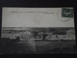 DECINES (Rhône, Ex Isère) - La Berthaudière Et Le Canal De Jonage - Animée - Voyagée - Autres Communes
