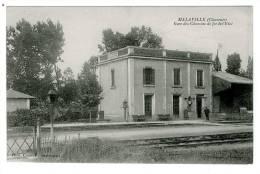 16 - T4492CPA - MALAVILLE - Gare Des Chemins De Fer De L'Etat - Parfait état - CHARENTE - France