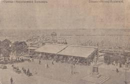 Odessa, Nicolaj Boulevard Und Hafen, 1918 - Handel