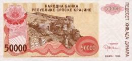 Croatia 50 000 Dinara 1993 P-R21a UNC - Croatia