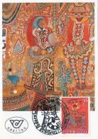 "Österreich, MAXIMUMKARTE ""Die Beatles"" (1991), 5 S Frankierung - Cartoline Maximum"