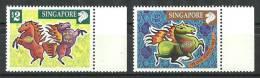 Singapore 2002 ( Year Of The Horse ) - MNH (**) - Singapur (1959-...)