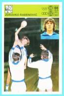 Svijet Sporta Cards - Zdravko Rađenović   Handball - Handball
