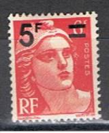 1F 466**YVERT 827**CÉRÈS(SURCHARGÉ)**19 49 - France