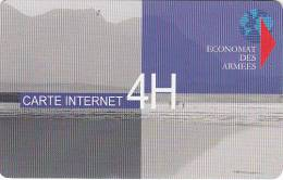FRANCE - Economat Des Armees Satellite Internet Prepaid Card, Mint - Frankrijk