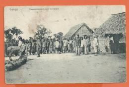 T286, Congo, Rassemblement Pour Le Travail, âne, Animée, Non Circulée - Französisch-Kongo - Sonstige