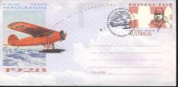 Australia Aerogramme  Sir Hubert Wilkins - Trasporti