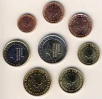 @Y@  Nederland  2012   Alle 8 Munten    UNC - Nederland