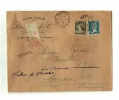 PARIS – Bureau N°1 « Pl. De La Bourse »  LRE  1er Ech.  – Tarif « MONACO » à 1F.40 - Francia
