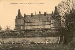 CPA - Randan - Le Château Vue De Derrière - Clermont Ferrand