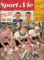 SPORT ET VIE N° 38 JUILLET 1959 SPECIAL TOUR DE FRANCE GAUL ANQUETIL BALDINI RIVIERE BOBET CYCLISME - Sport