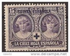 GUI181-A865TAN.Guinee .GUINEA  ESPAÑOLA.Alfonso Xlll.CRUZ ROJA.1926  (Ed 181**) Sin Charnela. - Neufs